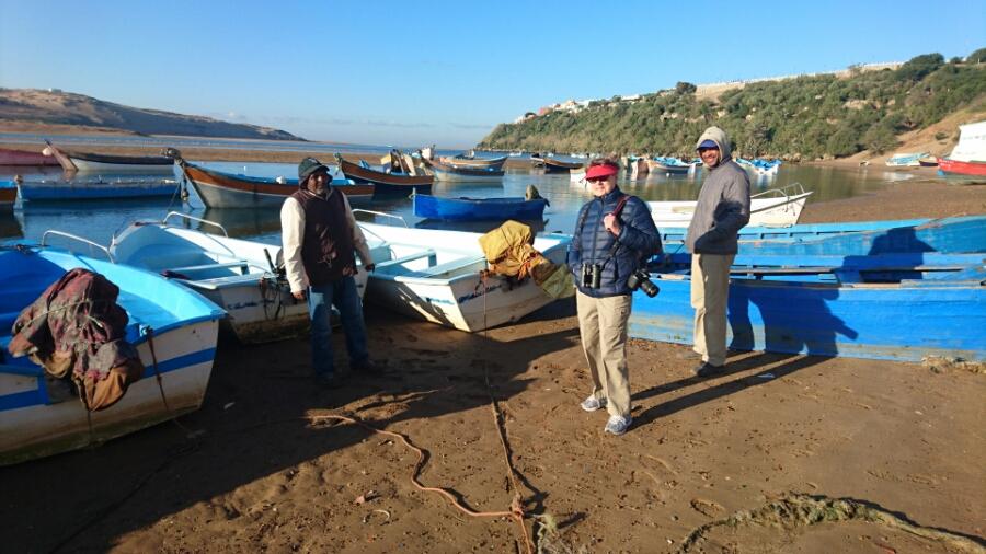 Portugal och Marocko resan del två. Moulay Bousselham till Rabat ochCasablanka